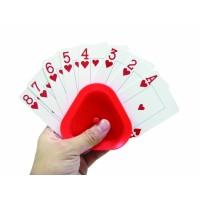 Driehoekige kaarthouder