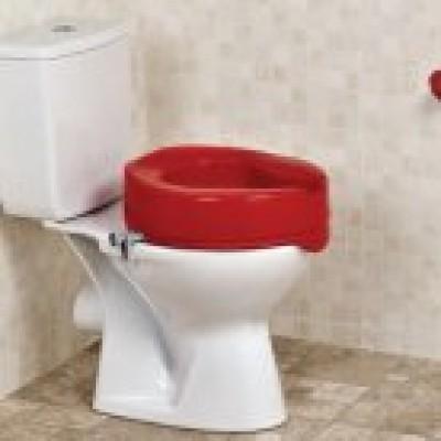 Toiletverhoger rood