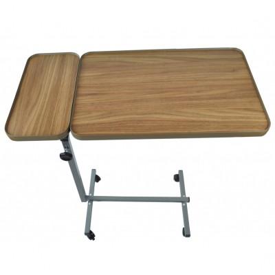 Bedleestafel met zijblad